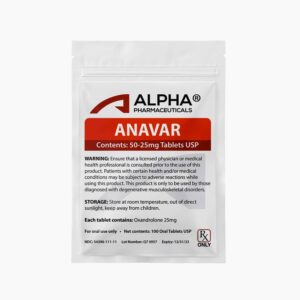 Alpha Pharma Anavar 25mg
